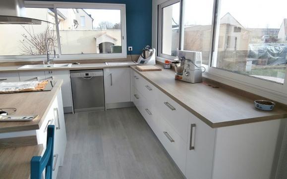 Rénovation cuisine à Caen
