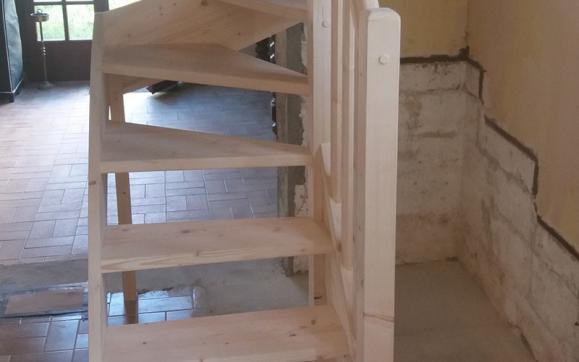 habillage escalier Caen